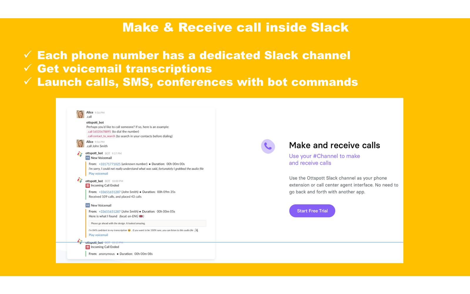 Ottspott   Slack App Directory
