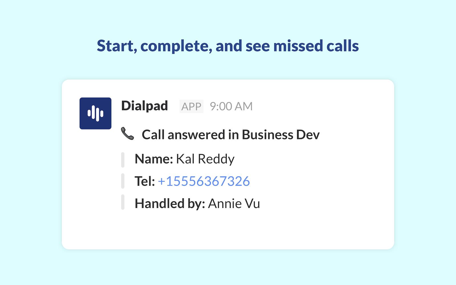 Dialpad   Slack App Directory