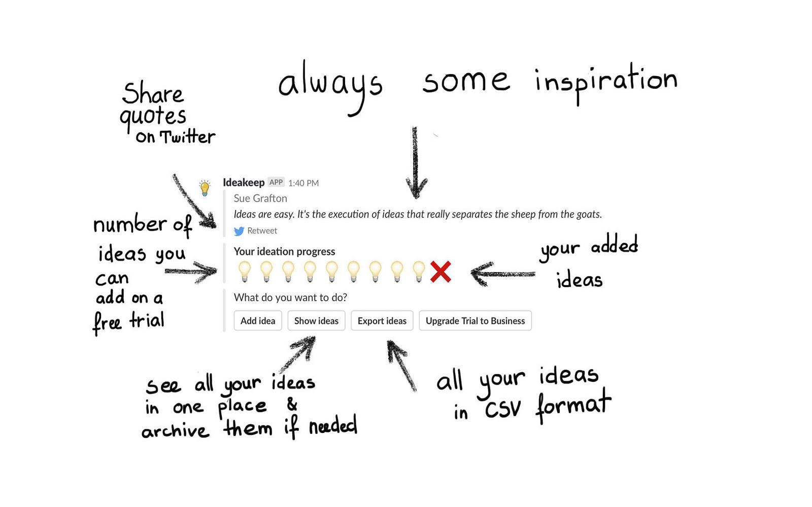 Ideakeep | Slack App Directory