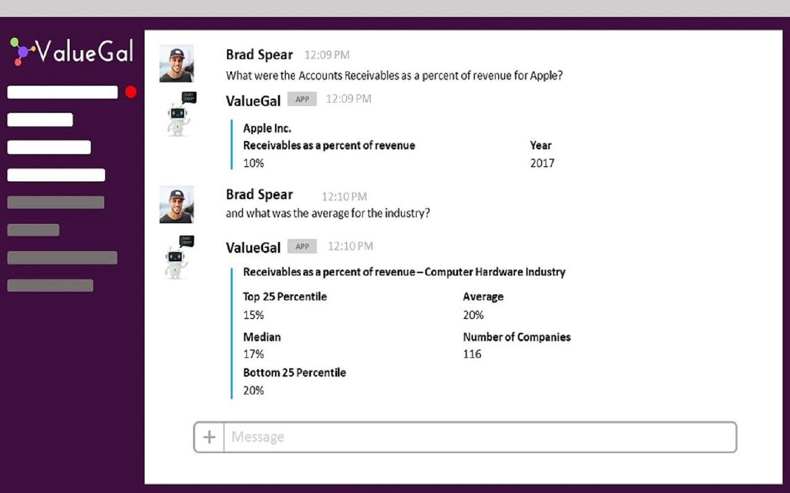 ValueGal | Slack App Directory