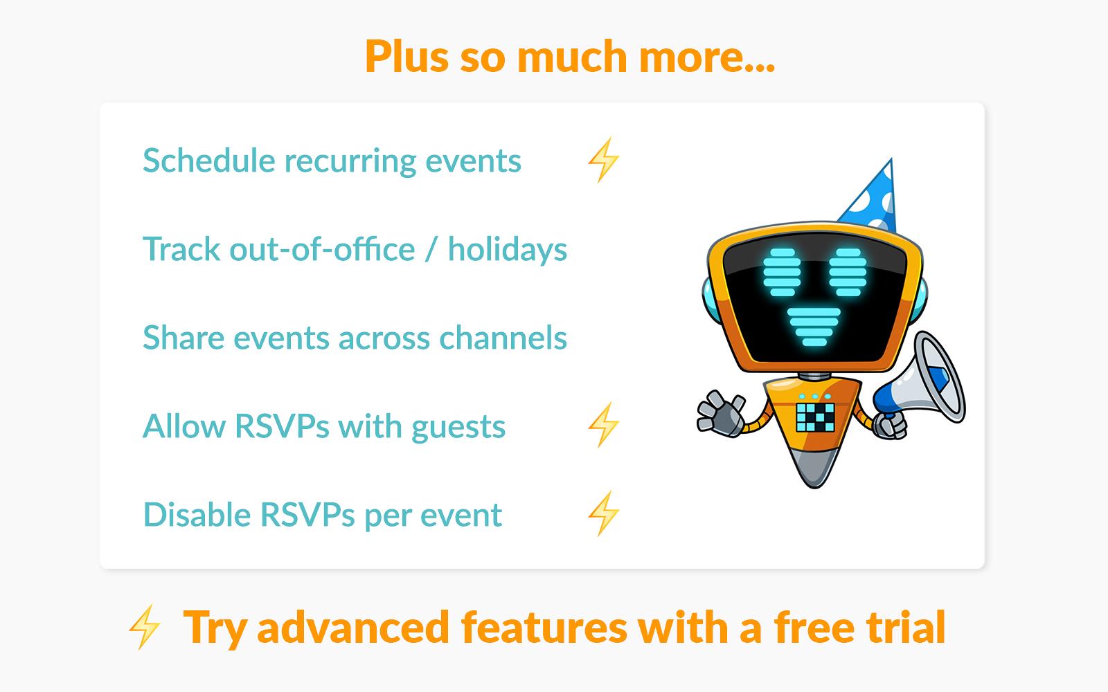 Eventbot Calendar | Slack App Directory