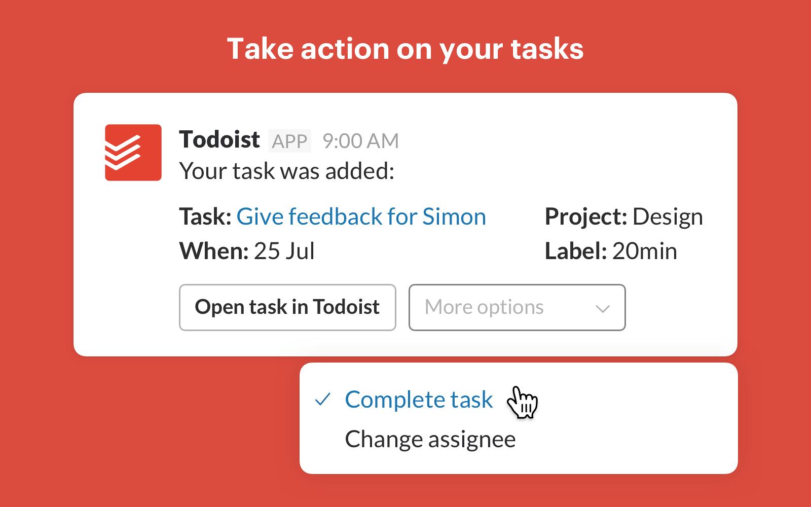 Todoist | Slack App Directory