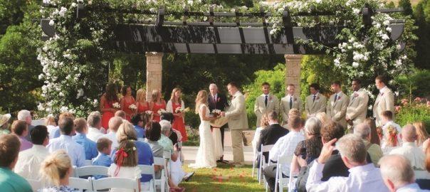Red-Butte-Garden-wedding-ceremony