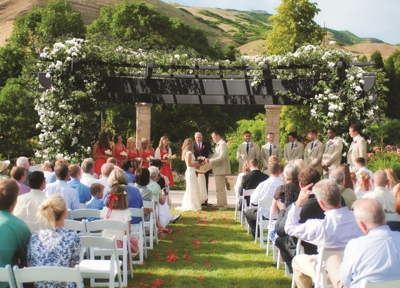 Utah Wedding Venue Outdoor Indoor Red Butte Garden Salt Lake