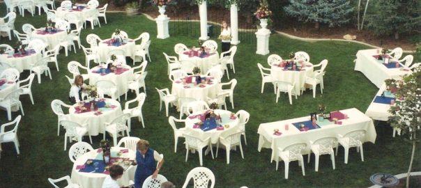 Utah wedding decor - Berglund Floral & Wedding Decor outdoor