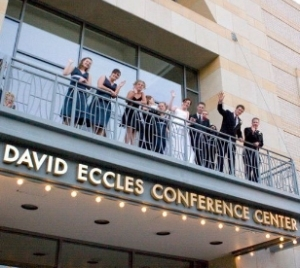Utah weddings venue Ogden Eccles Conference Center