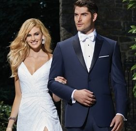 Utah Wedding Tuxedos - A Cleaner Image Formal Wear heather grey allure ike navy blake