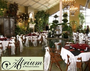 utah wedding reception center - atrium weddings
