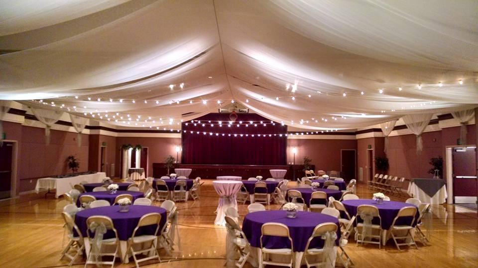 utah weddings decorations rentals I DO Decor cultural hall
