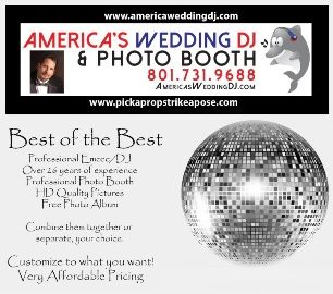 Americas Wedding DJ and Photo Booth Utah
