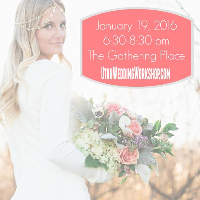 Utah Wedding Workshop