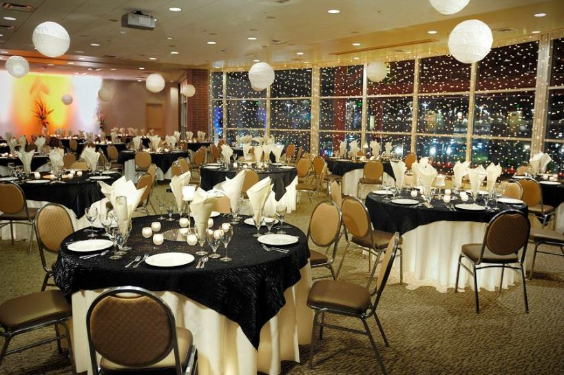 Utah Wedding Venue Megaplex Theatres Set Up