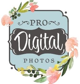 Utah-wedding-announcements-Pro-Digital-Photos-flower-logo
