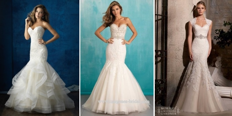 Your-Guide-to-Bridal-Gown-Silhouettes-Trumpet-Styles