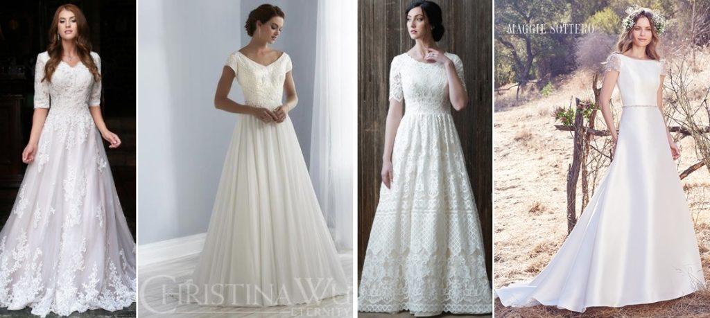 Your-Guide-to-Bridal-Gown-Silhouettes-A-Line-Styles