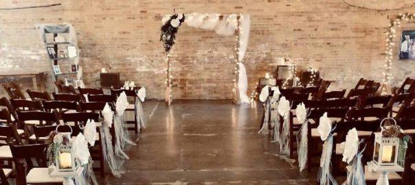 Odgen-Utah-Wedding-Venue-Copper-Nickel-wedding-set-up