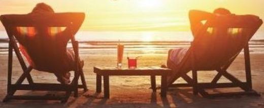 Honeymoon-couple-on-a-beach