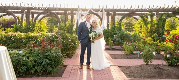 Utah wedding venue Outdoor, Indoor Thanksgiving Point rose garden wedding pic