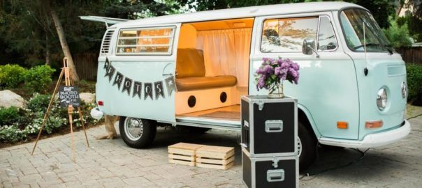 Utah Wedding Mobile Photo Booth The VW Photo Bus