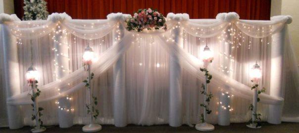 Utah Wedding Decor & Planning A Wedding Design backdrop