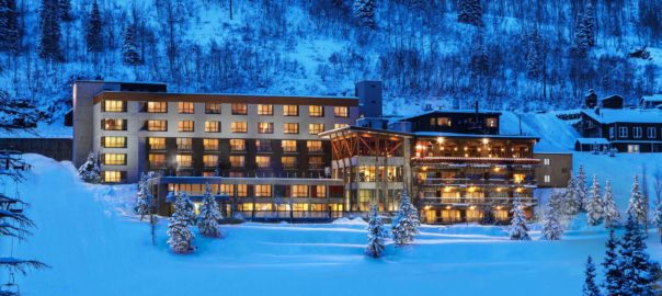 Utah wedding venue Alta's Rustler Lodge