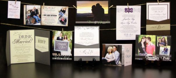 Utah Wedding Announcements Kara's Koncepts