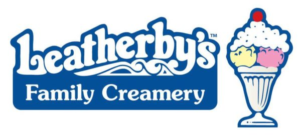 Utah wedding Catering Leatherby's Family Creamery logo