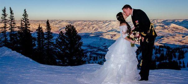 Utah Wedding Venue - Outdoor & Indoor Snowbasin Winter Wedding