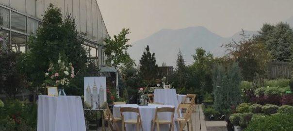 Utah Valley Wedding Venue Sun River Gardens Receptions