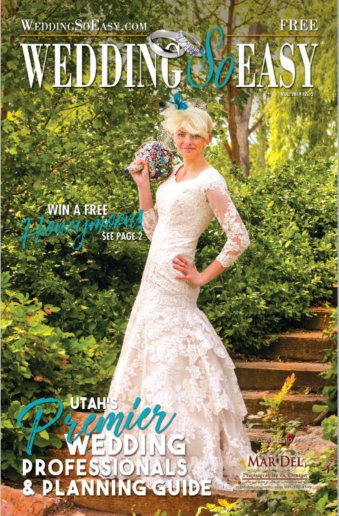 2019-2 WEDDING SO EASY Book - Utah's Premier Wedding Professionals and Planning Guide
