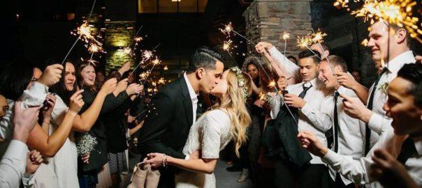 Utah County Wedding Venue Bella Vista Reception Center send off