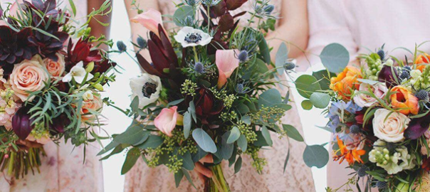 Finding the Perfect Wedding Flowers header
