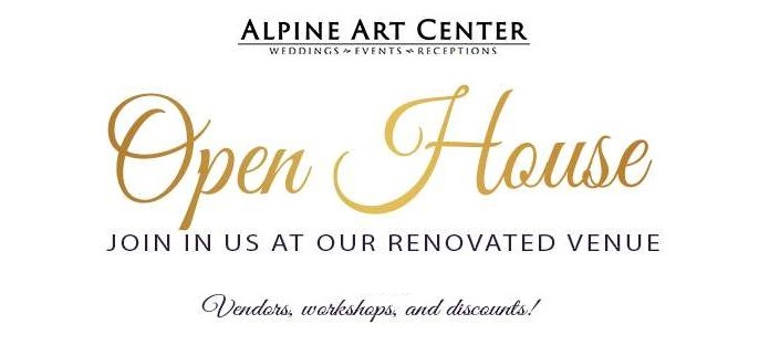 Utah Bridal Events Alpine Arts Center Open House