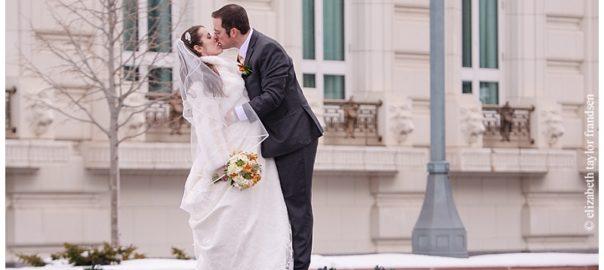 Salt Lake Bride Featured Wedding - Jessica and Michael