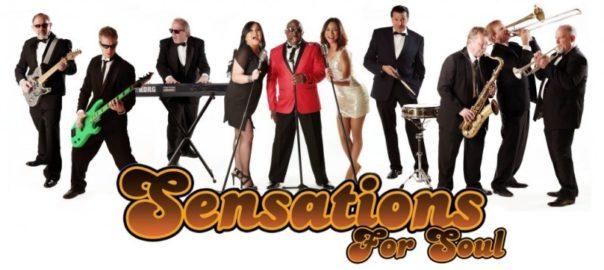 Utah Wedding Entertainment Sensations for Soul Band