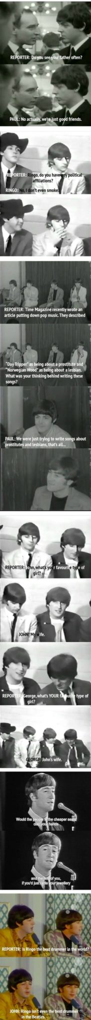 The Way That The Beatles Did Interviews Will Make You Love Them Even More