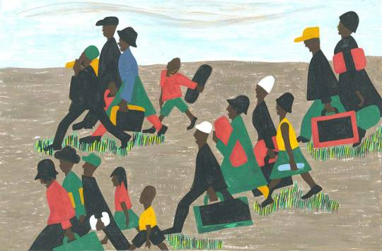 Jacob Lawrence, The Great Migration Panel 40