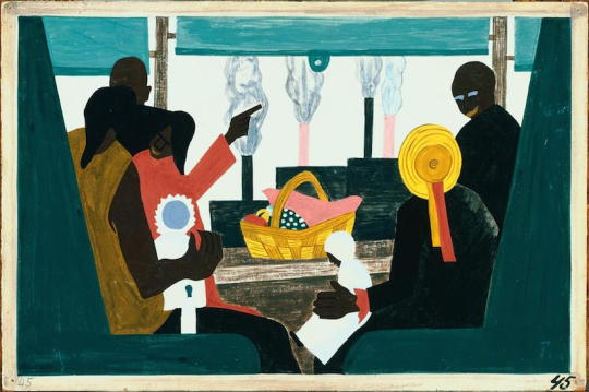 Jacob Lawrence, The Great Migration Panel 45
