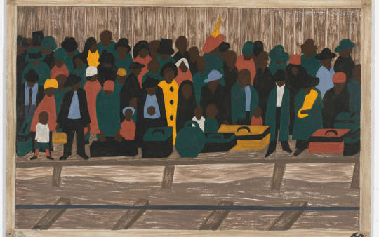 Jacob Lawrence, One Way Ticket