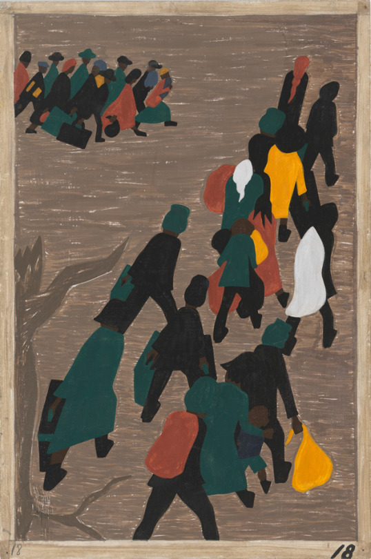 Jacob Lawrence, The Great Migration Panel 18