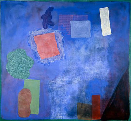 Robert Natkin, abstract