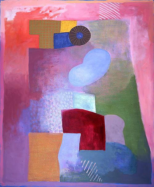Robert Natkin abstract