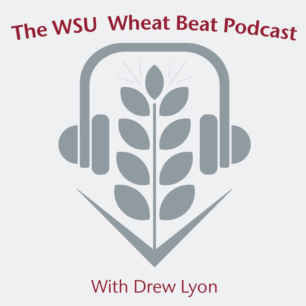The WSU Wheat Beat Podcast with Drew Lyon (Logo)