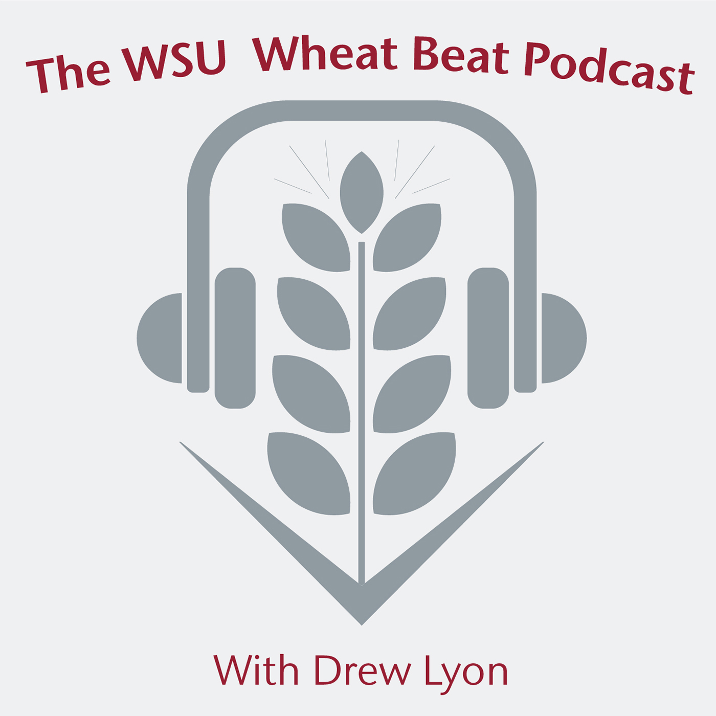 WSU Wheat Beat Podcast logo.