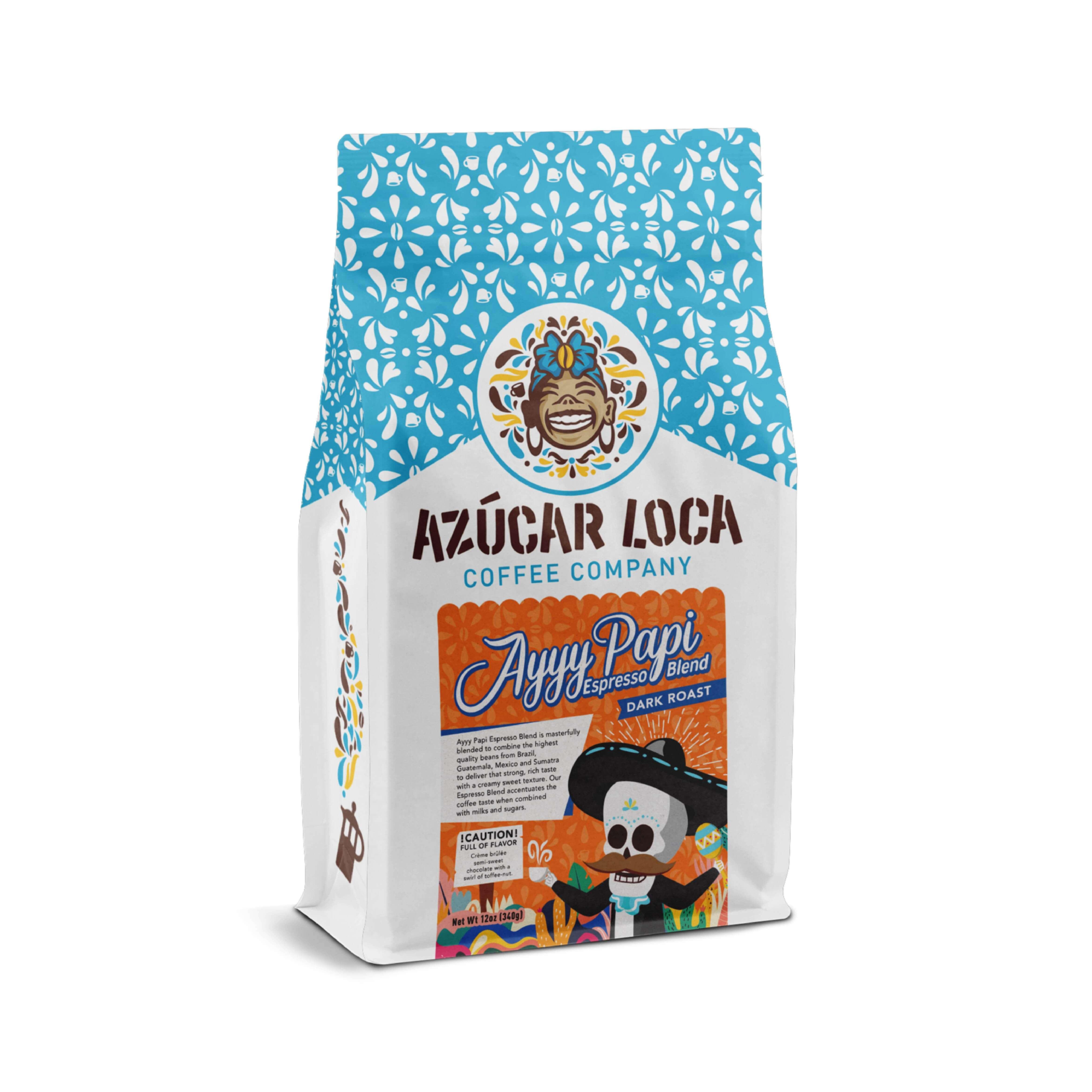 Ayyy Papi Espresso Blend from Azucar Loca Coffee Company