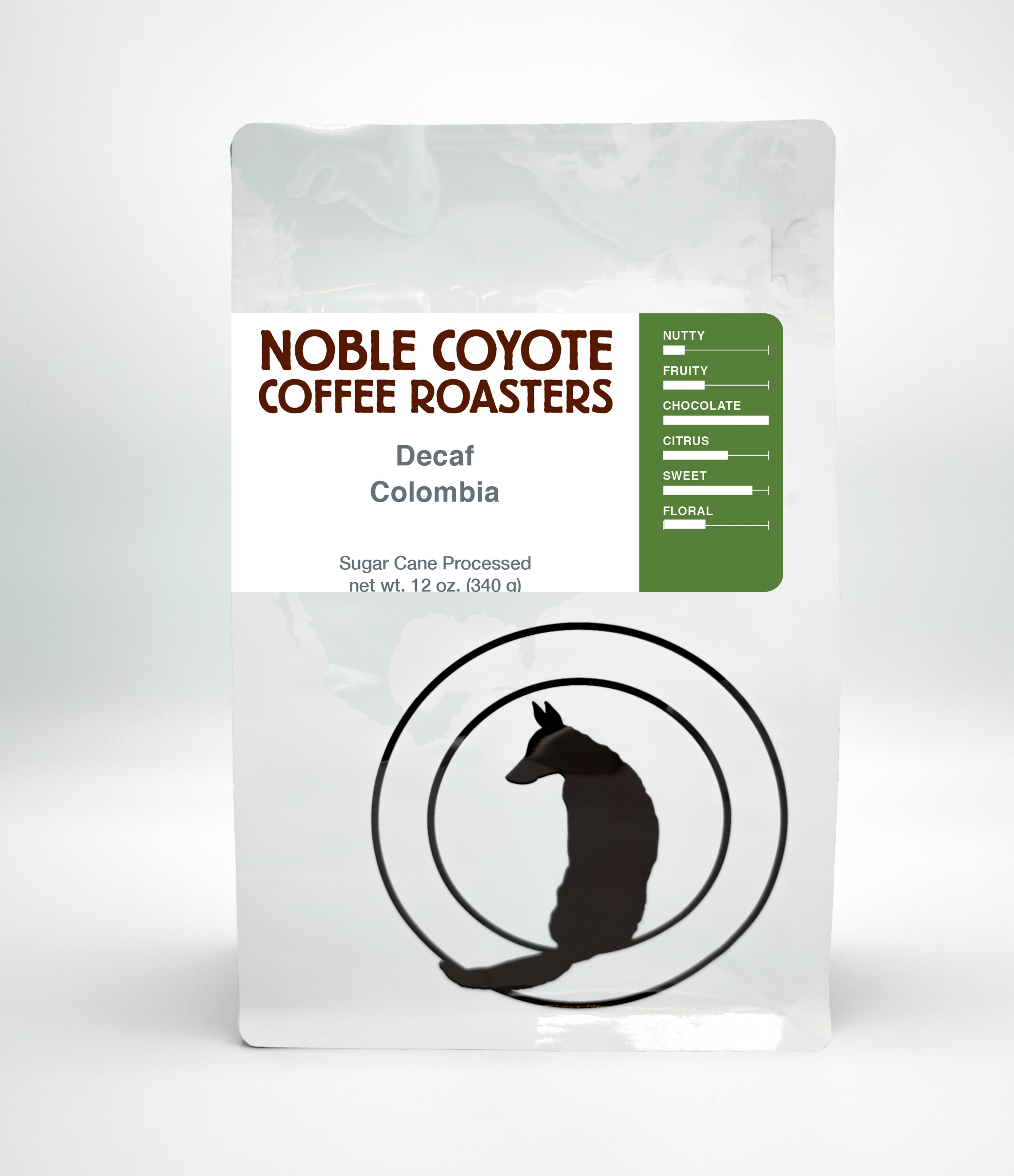 Decaf Colombia from Noble Coyote Coffee Roasters