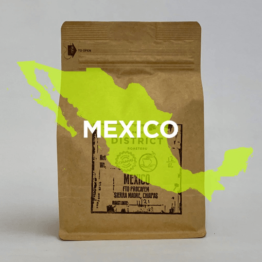 Chiapas Mexico from DISTRICT Roasters