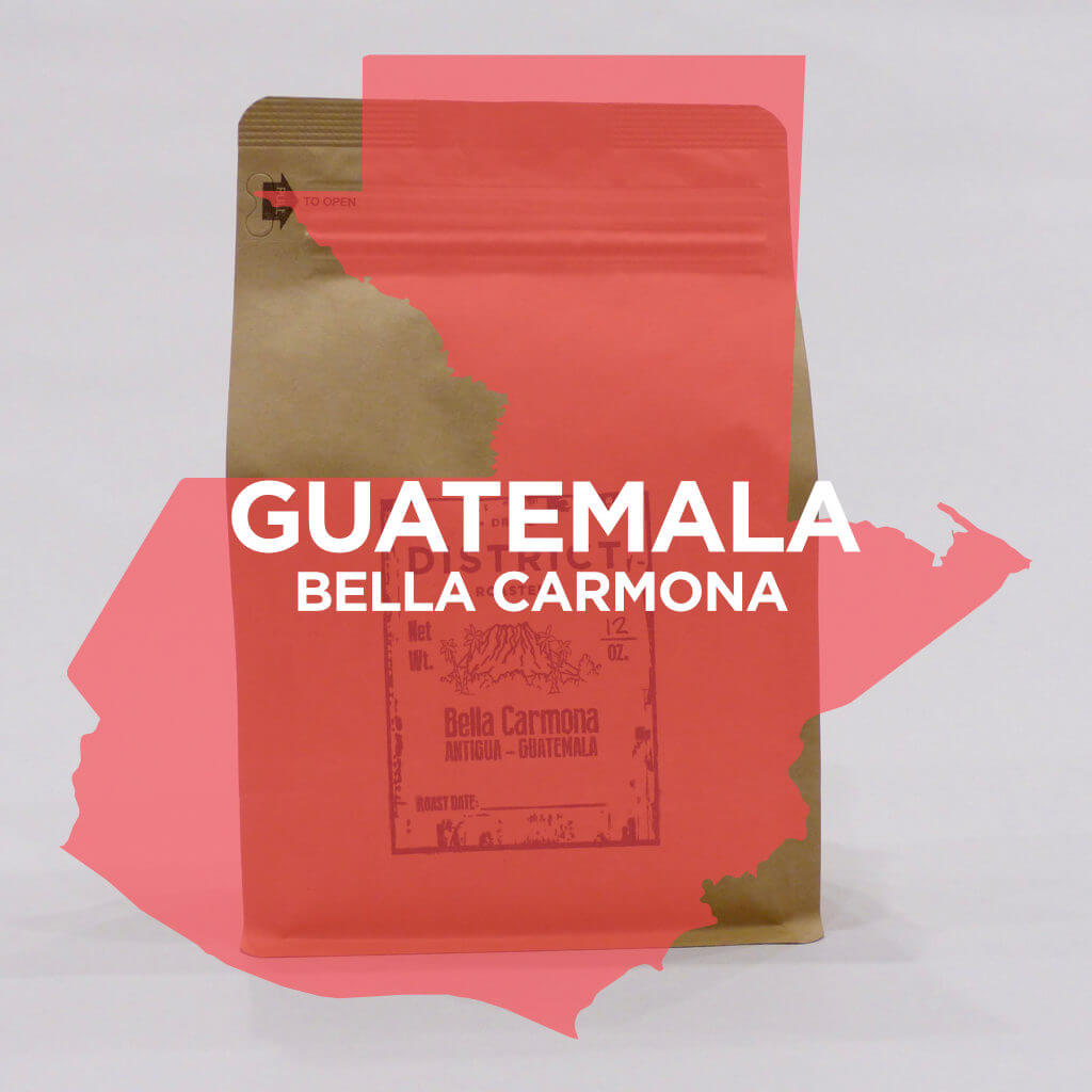 Guatemala Bella Carmona from DISTRICT Roasters