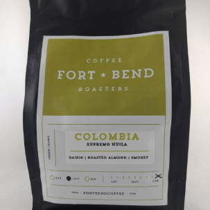 Colombia: Huila from Fort Bend Coffee Roasters