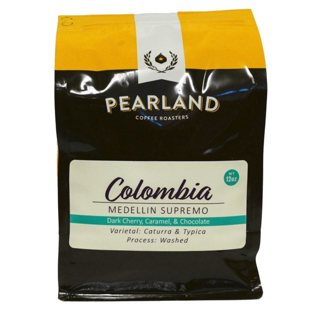 Colombia Medellin Supremo from Pearland Coffee Roasters